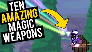 Top 10 Magic Weapons in Terraria