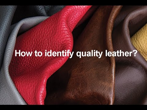Image result for how to recognize quality leather