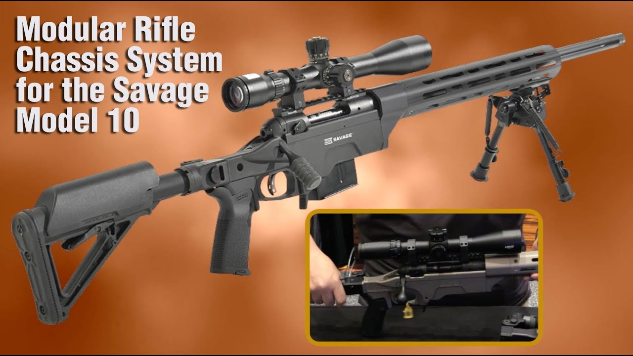 APO's Folding Rifle Stock Upgrades Savage Model 10