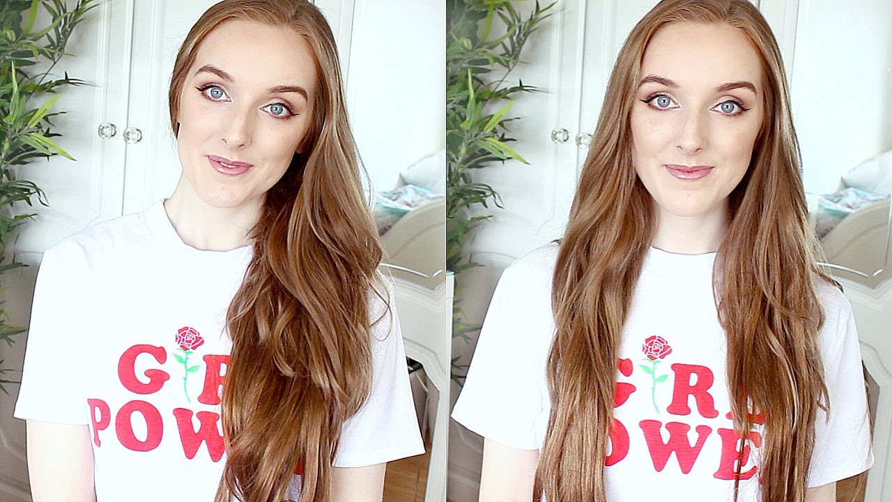 Milk And Blush Hair Extensions Review And Unboxing Youtube