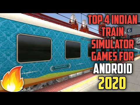 Top 4 Indian Train Simulation Games For Android | 2020 | MSTS Clones