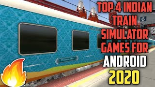 Top 4 Indian Train Simulation Games For Android   2020   MSTS Clones screenshot 2