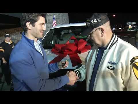 AJ - Good News: Community Replaces Funeral Truck for Vets