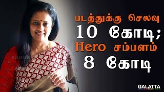 படத்துக்கு செலவு 10 கோடி; Hero சம்பளம் 8 கோடி - Lakshmy Ramakrishnan ஆதங்கம்   Galatta Exclusive