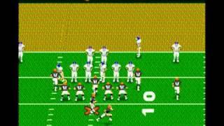 Deion Sanders Prime Time Football Gameplay (Sega Genesis)