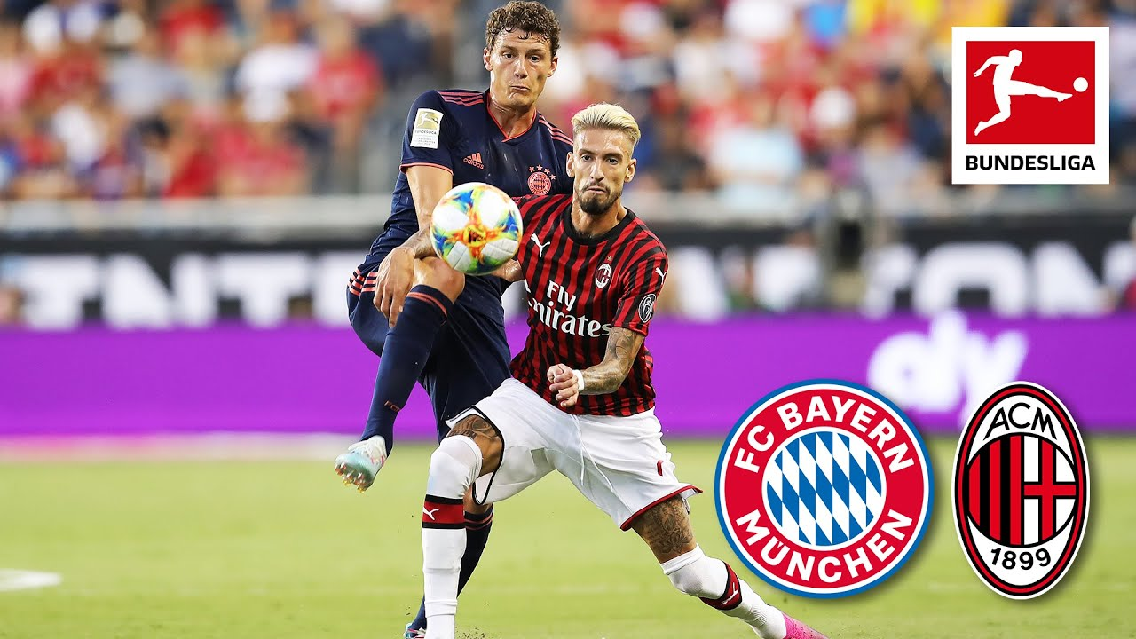 Fc Bayern Munchen Ac Milan 1 0 Highlights Icc 2019 Youtube