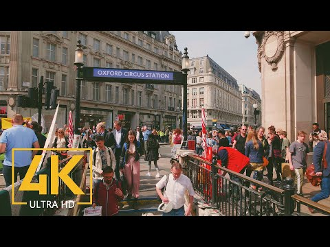 4K London, Great Britain - Cities of the World Travel Film - Part #2
