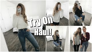 Casual Fashion // Try-On Haul!