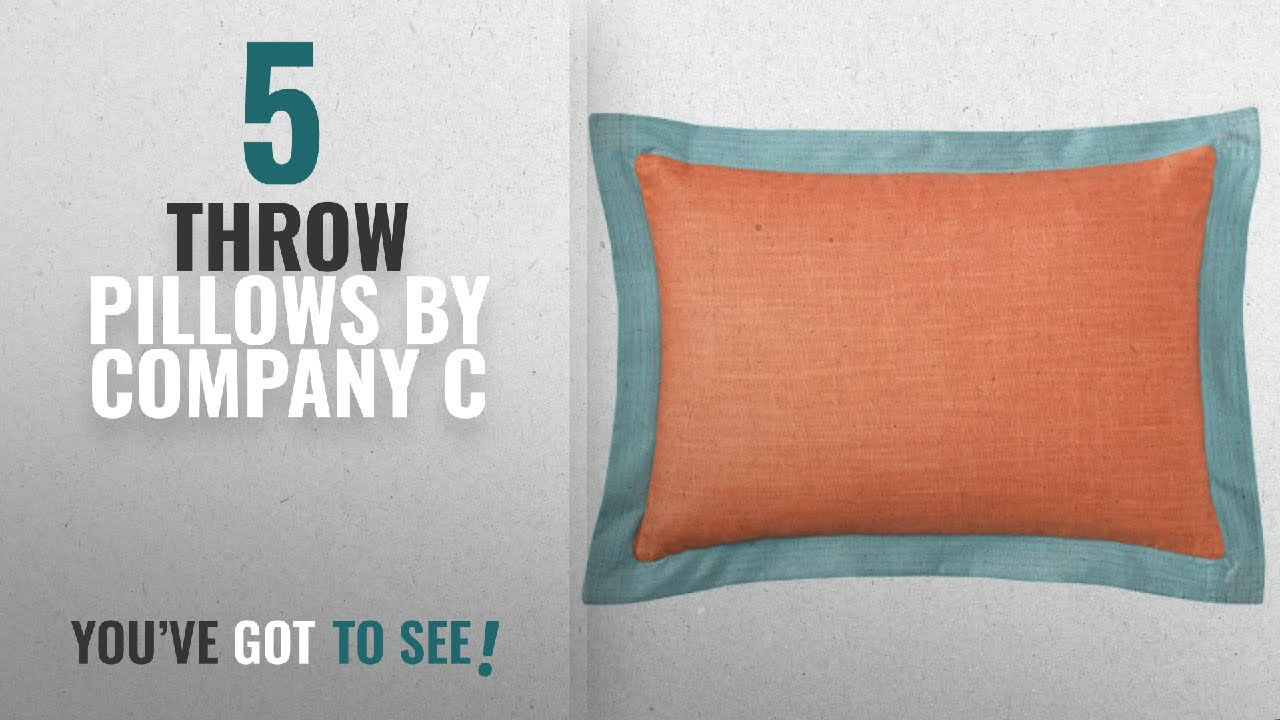Top 10 Company C Throw Pillows 2018 Ainsley Pillow 14 X 20