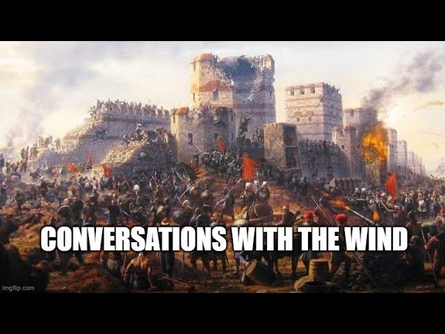 Conversations with the Wind - Dystopian Literature