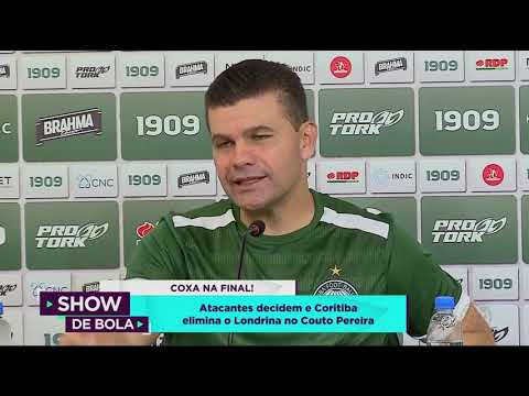Atacantes decidem e Coritiba elimina o Londrina no Couto Pereira - Show de Bola (08/04/19)