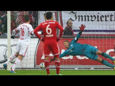 Manuel Neuer Best Saver Ever Craziest Skills Best Goalkeeper In the World HD