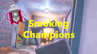 Smoking Champions - R6 Console Ranked Highlights