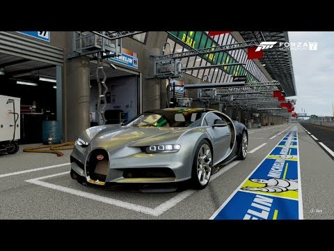 Forza 7- 2018 BUGATTI CHIRON (Top Speed) 😨