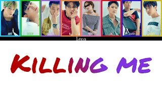 Cover images iKON + YOU (8 members) - 죽겠다 (Killing Me)
