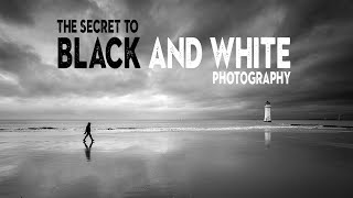 The SECRET To BLACK And WHITE Photography Success