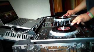 MIX CUMBIA VILLERA 2011 MIXER ZONE NS7 FX NUMARK DJ BALDOMERO en vivo