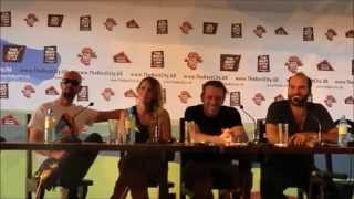 Guano Apes - press conference (the Best City fest 12.07.13)