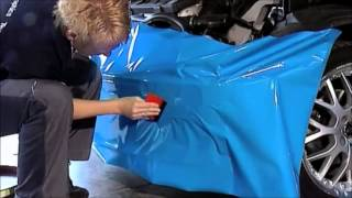 wrapping a car