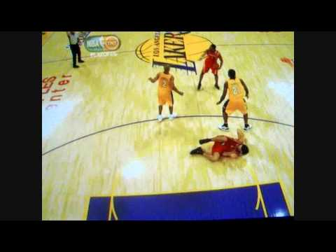 Scola Gets LAID OUT By Fisher *HD QUALITY*
