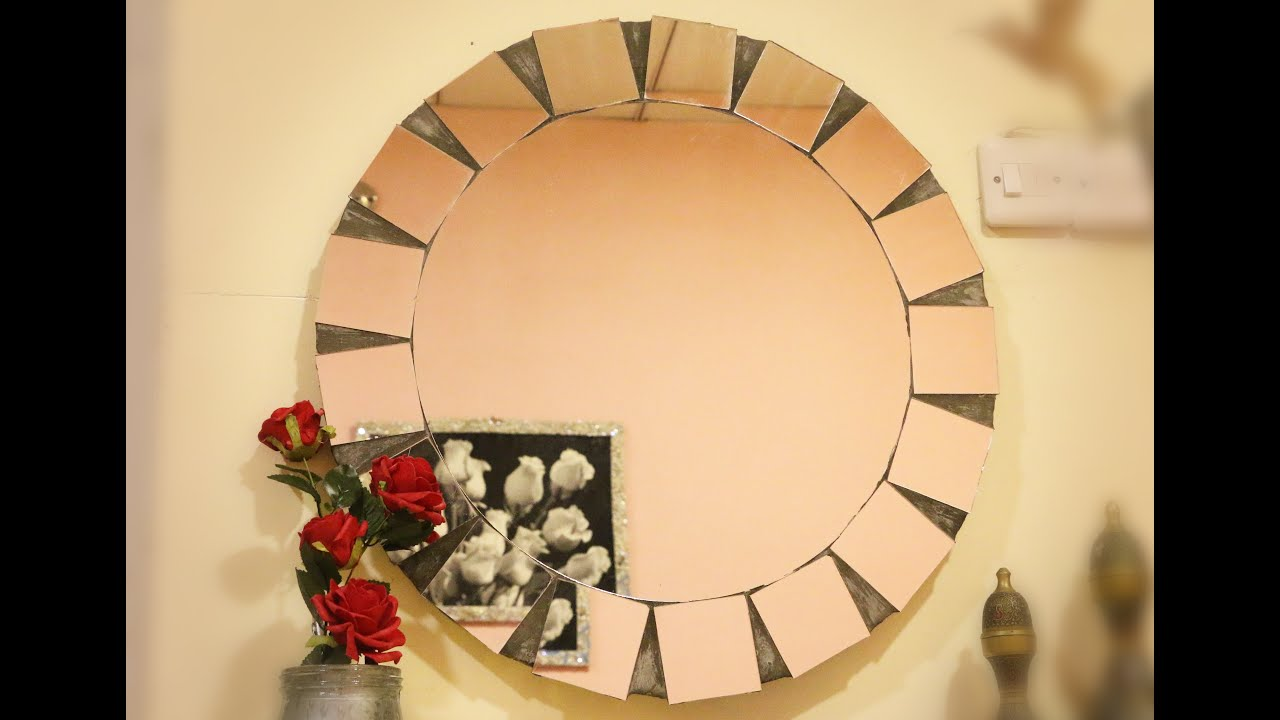 DIY STARBURST MIRROR - How to make a sun mirror step by step - YouTube