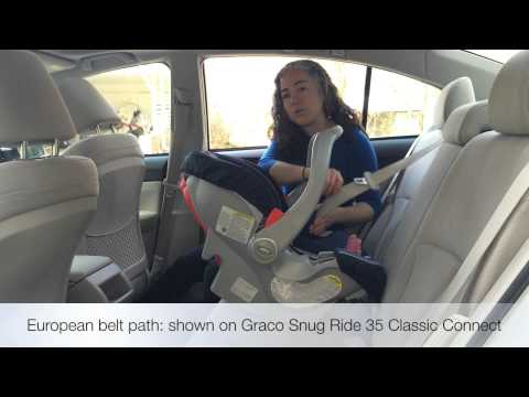 Why Every Infant Car Seat Needs A European Belt Path For Installation Without The Base