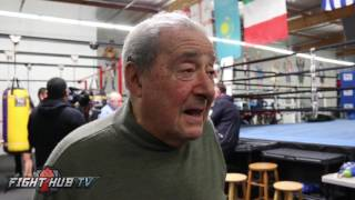 Bob Arum if Mayweather McGregor doesn't happen