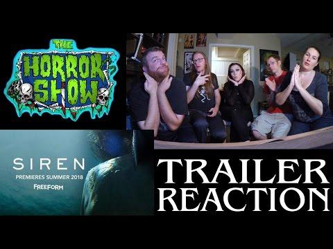 """""""Siren"""" 2017 Horror Movie Trailer Reaction - The Horror Show"""