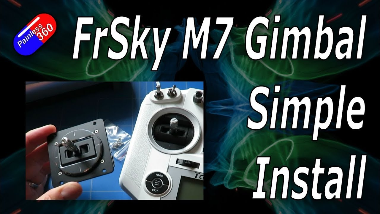 FrSky M7 Hall Effect Gimbal - Simple Step by Step Install