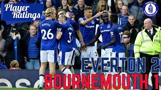 Everton 2-1 AFC Bournemouth | EFC Player Ratings