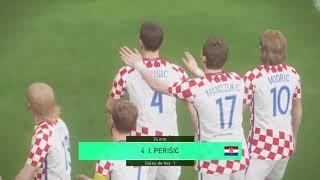 México VS Croacia  amistoso 2018