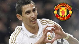 Angel Di Maria Welcome To Manchester United 2014 ● Goodbye Real Madrid CF.