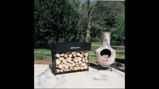 The Woodhaven 8 Foot Firewood Log Rack