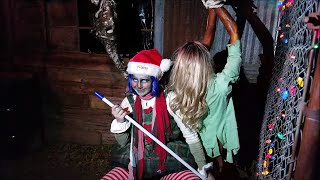 """Merry Twisted Christmas - """"Scream Hollow"""" Halloween Park  - Christmas Day Special"""