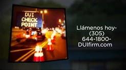 ¿Arrestado Por DUI? Vea al Abogado de Defensa de DUI en Miami- Albert Quirantes 305-644-1800