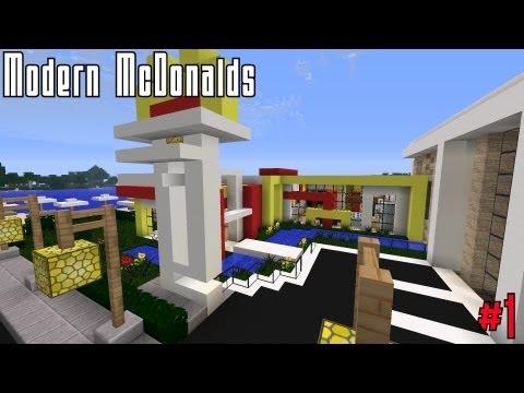 Minecraft modernes haus bauen 3 deutsch german part 1 for Modernes redstone haus