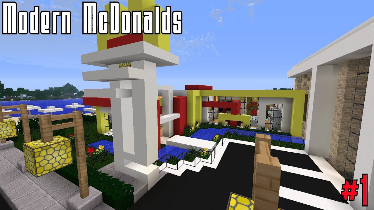 Mcdonalds bauen minecraft part 1