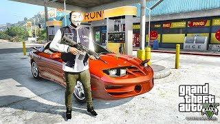 GTA 5 REAL LIFE CJ MOD #61 - BANK JOB!!(GTA 5 REAL LIFE MODS/ THUG LIFE)