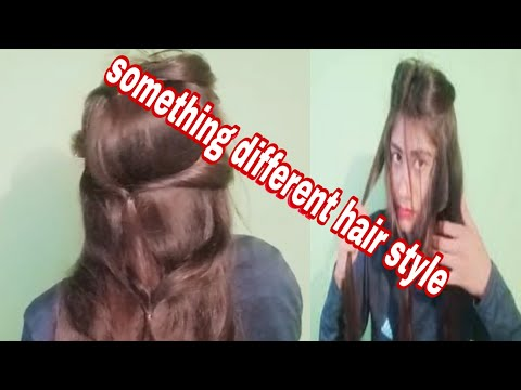 something-different-hair-style-...-for-indian-wedding-,anniversary,-birthday-#hairstyle