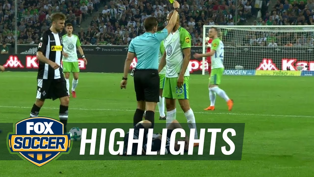 Monchengladbach Vs Vfl Wolfsburg   Bundesliga Highlights