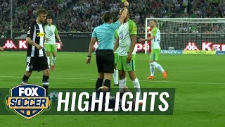 Monchengladbach vs. VfL Wolfsburg | 2017-18 Bundesliga Highlights