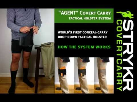 "How it Works! - Wearing the STRYKR ""AGENT"" Covert Carry Holster Pants"