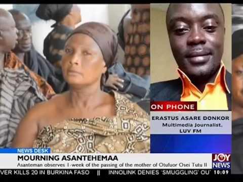 Mourning Asantehemaa - News Desk on Joy News (24-11-16)