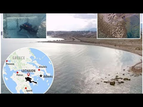 Revealing the secret of the ancient Roman Empire harbour on year in 1,400 incredible video