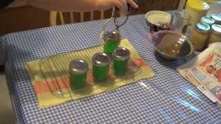 Making Apple Mint Jelly