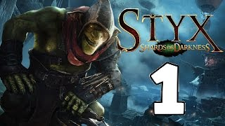 Prologue - The City of Thieves - Styx Shards of Darkness Gameplay - Xbox One - Part 1