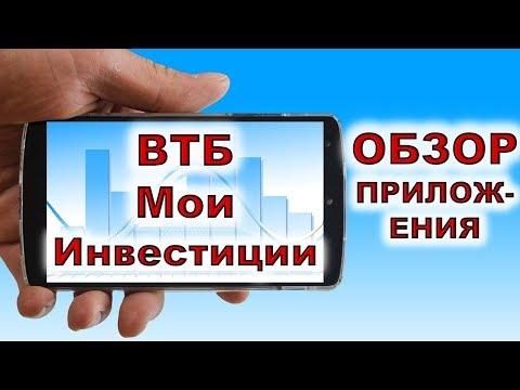 ВТБ Мои Инвестиции. Обзор мобильного приложения ВТБ Мои Инвестиции. ИИС. Акции. Инвестиции 2020.