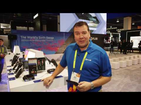 Hands on with the FLIR C3 @ CES 2017