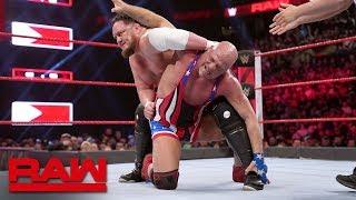 Kurt Angle vs. Samoa Joe: Raw, March 25, 2019