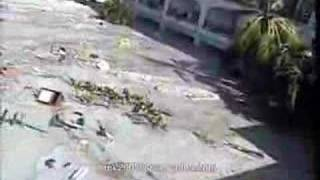 Tsunami at PP Island Thailand (Escape from the Deadly wave)